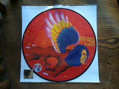 LP DAVID BOWIE THE MAN WHO SOLD THE WORLD PICTURE DISC 2016 RSD record store day