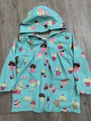 Hatley Girls Raincoat Age 4 Years, cupcake (includes wellies for Free)