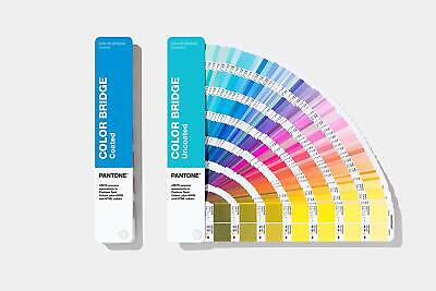 Pantone Color Bridge Guides Coated & Uncoated GP6102A - Brand New 2019 Edition