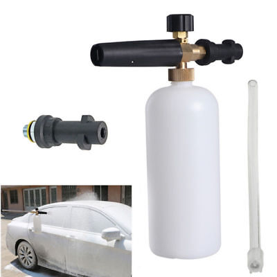 Heavy Duty High Pressure Washer Snow Foam Lance 1L Cannon For Karcher K Series