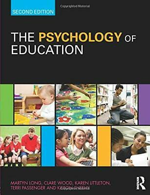 Psychology Of Education 2Nd Edition New Paperback Book