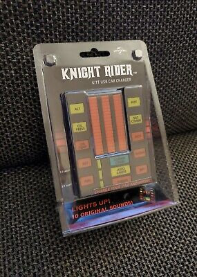 Knight Rider KITT USB Car Charger Michael Knight Knight Industries
