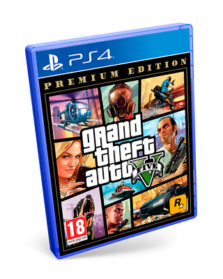 Grand Theft Auto V Premium Edition PS4 PAL ESPAÑA  NUEVO CASTELLANO  GTA 5
