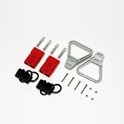 350A red/grey Anderson type connector kit 2/0 gauge 70mm2