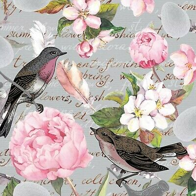 4 Lunch Paper Napkins for Decoupage Party Table Craft Farmfriends Cow Galloway