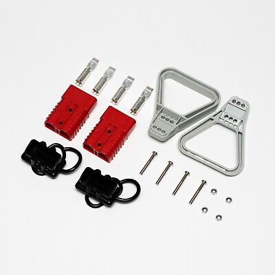 175A red/grey Anderson type connector kit 1/0 gauge 50mm2