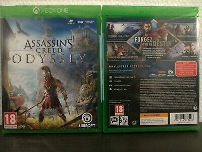 Assassin's Creed Odyssey Xbox One 100% Neuf Jamais Ouvert..