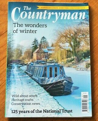 The Countryman Magazine January 2020 Otters, Heritage Crafts, Conservation News