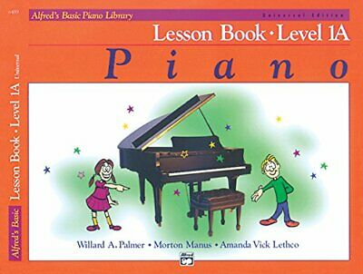 Alfred's Basic Piano Course - Lesson Book 1A (with CD) New Sheet music Book