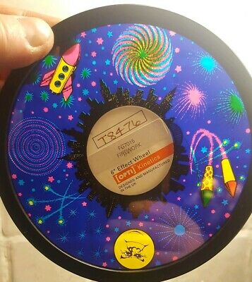 "6"" Effects Wheel by Optikinetics  'Firework' Sensory Snoezelen Rompa"