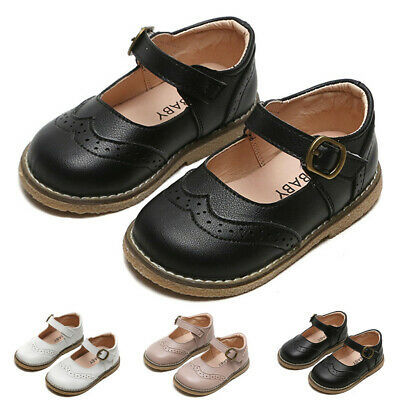 Toddler Infant Kids Baby Girls Boys Children British Party Casual Shoes Sandals
