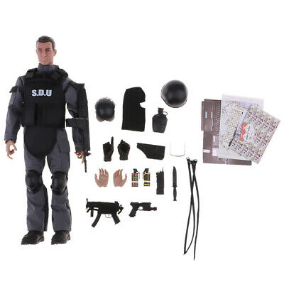 1//6 Scale Police Soldiers 12inch Action Figures NB02A Live CS Shooting Games