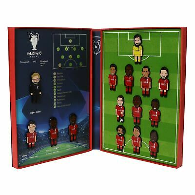 Liverpool FC LFC UCL Final Collectors Pin Set Official