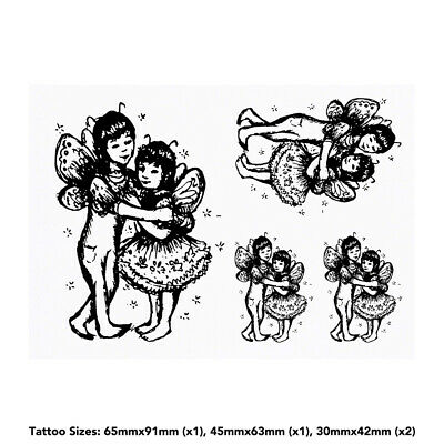 'Fairy Friends' Temporary Tattoos (TO006398)