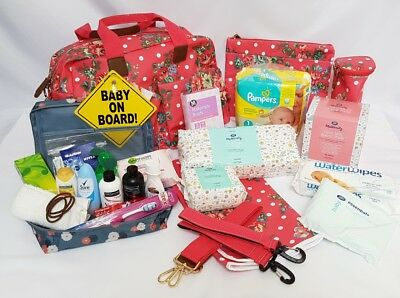 Pre Packed Maternity Hospital Changing Bag for mum to be & newborn - 24 Products