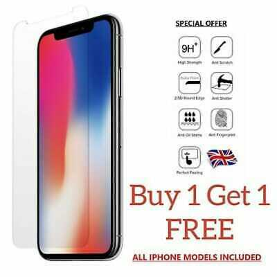 Genuine Screen Protector For Apple iPhone X XS - Tempered Glass 100% Genuine UK