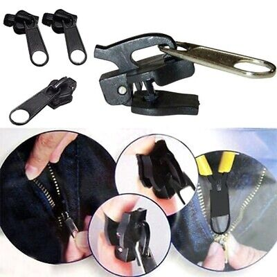 Fix A Zipper Zip Slider Rescue Instant Repair Kit Replacement Removable 6Pcs