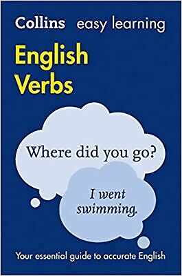 Collins Easy Learning English - Easy Learning English Verbs Paperback Book NEW