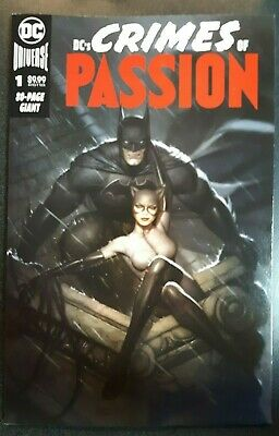 DC CRIMES OF PASSION #1 Ryan Brown Exclusive Trade Dress Variant Cover A NM Rare