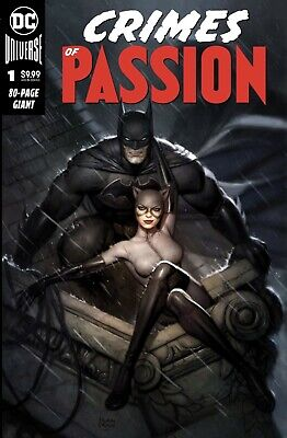 Crimes Of Passion #1 Ryan Brown Batman Catwoman (2020) Exclusive Preorder