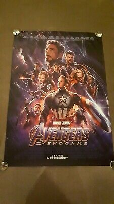 Avengers End Game original marvel one sheet d/s movie poster full size mint