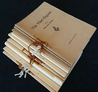12 Vintage Medical Reference Guide Books ~ By Susanne Cocroft
