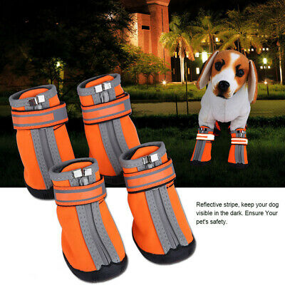 Warm Puppy Booties Waterproof Pet Non-slip Shoes Winter Dog Cat Snow Boots