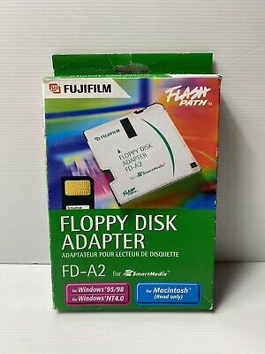 Fujifilm Floppy Disk Adapter FD-A2 for Smart Media, for Some Windows & Mac