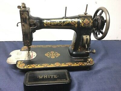 Antique White Family Rotary Sewing Machine FR 278113