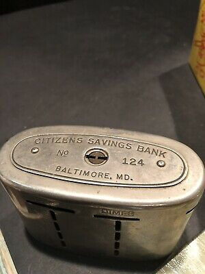 Automatic Recording Safe Co The Traveling Teller Citizens Savings Bank Baltimore