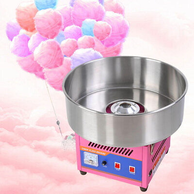"""20"""" Cotton Candy Machine Funfair Party Kid Sugar Commercial Floss Maker Electric"""