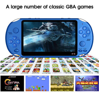 5.1''Portable PSP 8GB Game Console Player Built-in 10000 Games Handheld Console*
