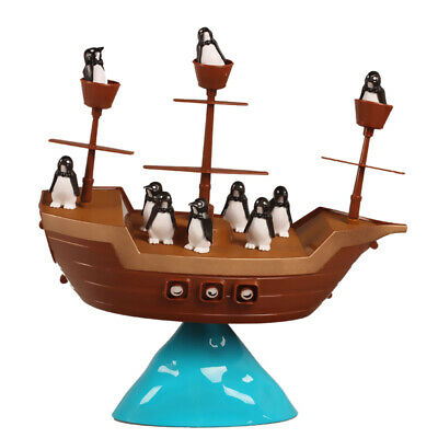 Creative Family Fun Toys Pirate Boat Toy Penguin Balance Game Indoor Game