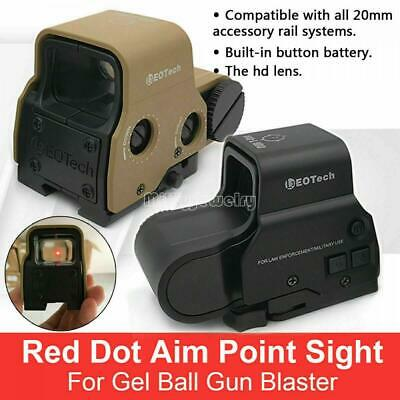 Red Dot Holographic Sight 558 Tactical Scope Sight For Jinming Gel Ball Blaster