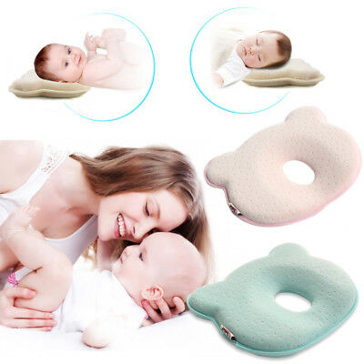 Newborn Baby Cot Pillow Preventing Flat Head Cushion Neck Syndrome Neck-Support