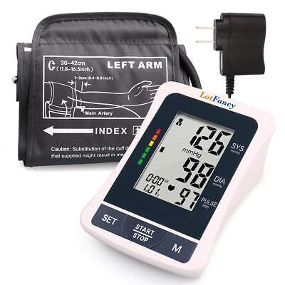 Automatic Arm Blood Pressure Monitor BP Machine Tester Meter Cuff 11.8''-16.5''