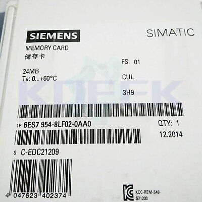 Siemens memory card 1pc new 6ES7 954-8LF02-0AA0 fast delivery