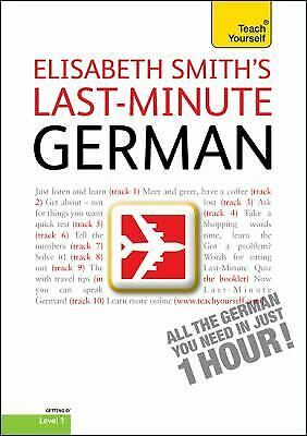 Last-Minute German with Audio CD: A Teach Yourself Guide (TY: Language Guides)