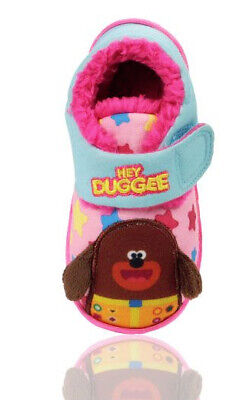 Girls Hey Duggee Harney Soft Warm Slipper Size 5 To 10 New In Bag Genuine