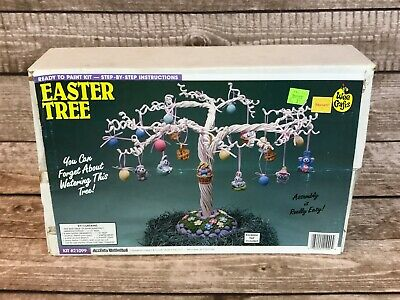 Wee Crafts Easter Tree Ready To Paint Kit #21099 Accents Unlimited
