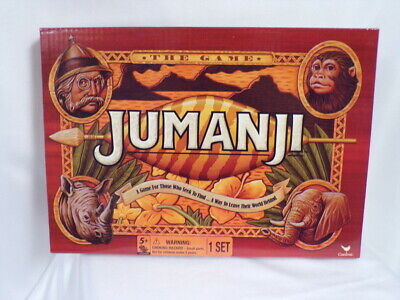 NEW SEALED 2017 Jumanji The Board Game by Cardinal