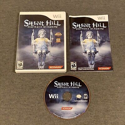 Silent Hill: Shattered Memories (Nintendo Wii, 2009) CIB Complete w/ Manual