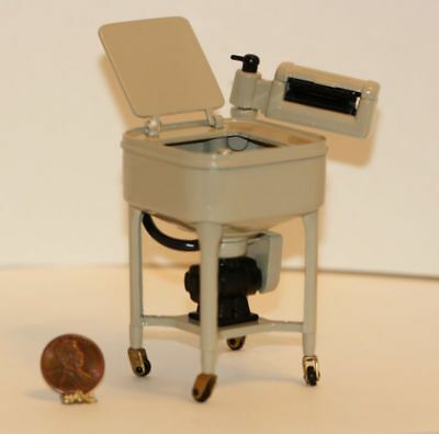 Dollhouse Miniature Vintage Reproduction Maytag Wringer Washer 1927 Model