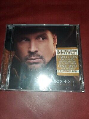 The Ultimate Hits By Garth Brooks (2 CD 1 DVD Set) Brand New Factory Sealed