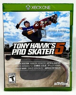 Tony Hawk's Pro Skater 5 - Xbox One - Brand New | Factory Sealed