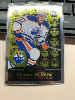 2015-16 OPC Platinum RETRO Rookie RC card R97 CONNOR McDAVID Edmonton OIlers