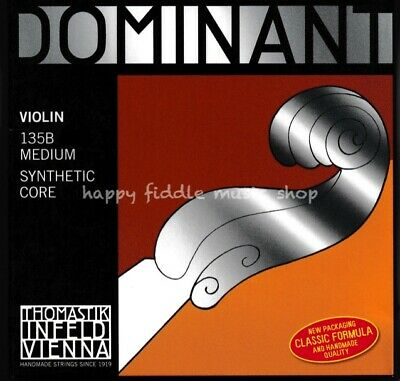 THOMASTIK DOMINANT violin strings and string set 135B 4/4