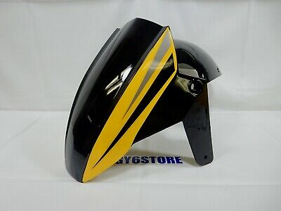 TAOTAO GY6 150cc QUANTUM FRONT WHEEL FENDER (BLACK / YELLOW) *OEM*