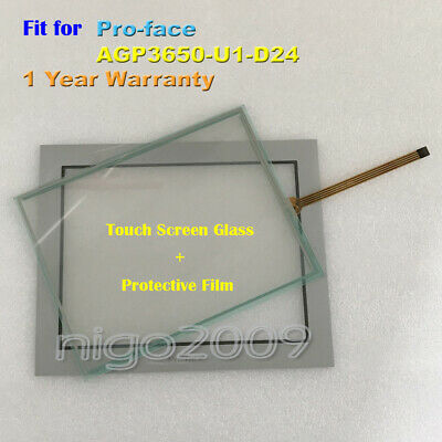 New for Pro-face AGP3650-U1-D24  AGP3650U1D24 Touch Screen Glass+Protective Film
