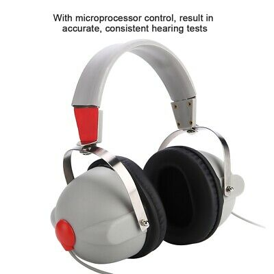 PRO Hearing Screening Headphone Air Conduction Audiometer f/ Hearing Test 3dB